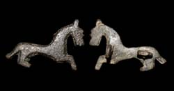Brooch, Zoomorphic Horse, ca. 2nd - early 3rd Cent. AD